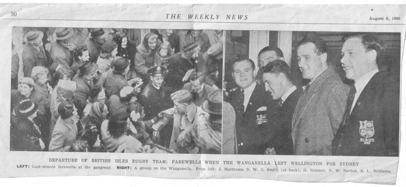 1950 Tour makes headlines