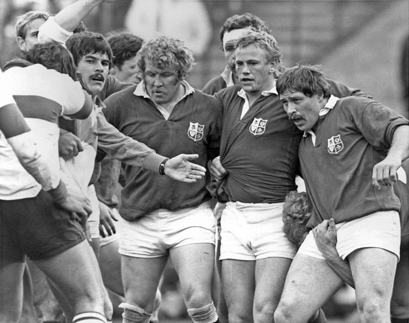 Front row of the Lions 1980