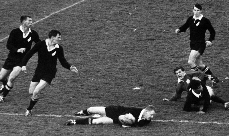 New Zealand try in 1966